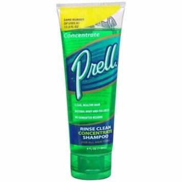 Prell Hair Rinse Clean Concentrate Shampoo - 4 oz (Pack of 5)
