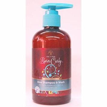 Born Curly Aloe Shampoo & Wash 8oz
