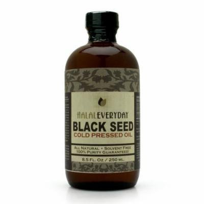 100% Pure and Cold Pressed Black Seed Oil - 8 oz.