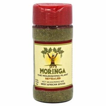 Moringa Revealed - Moringa Hot Seasoning Mix with West African Spices - 1.92 oz.