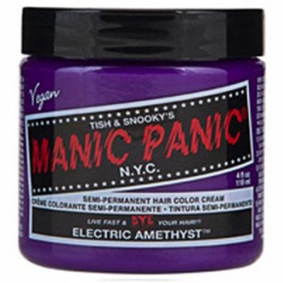 Manic Panic Semi Permanent Hair Color Cream - Electric Amethyst 4 oz.