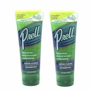 Prell Hair Rinse Clean Concentrate Shampoo - 4 oz (Pack of 2)
