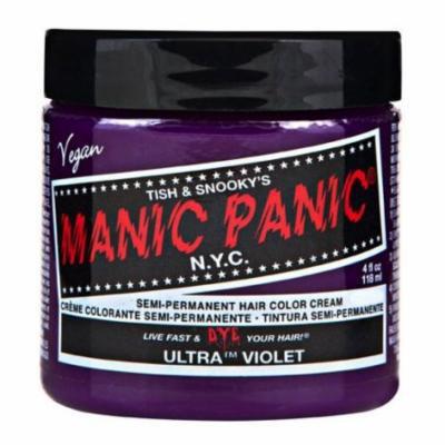 Manic Panic 4oz Semi-Permanent Ultra Violet Hair Dye Purple