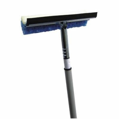 TOUGH GUY 13E192 Telescopic Window Washer/Squeegee, 56 In