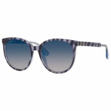 JIMMY CHOO Sunglasses REECE/S 0LXP Striped Glitter Blue 55MM