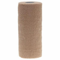 Medline Sterile Latex-Free Co-Flex LF2 Bandages,Tan DYNJ089006