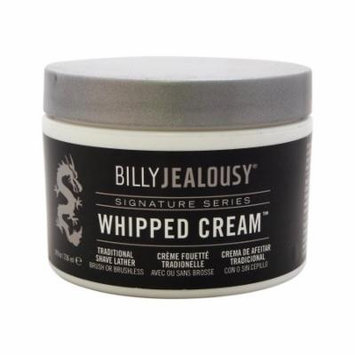 Whipped Cream Traditional Shave Lather by Billy Jealousy for Men - 8 oz Cream