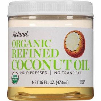 Roland Organic Refined Coconut Oil, 16 fl oz