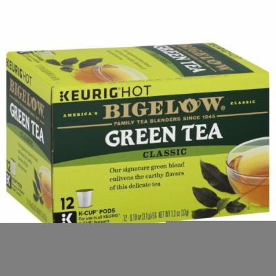 BIGELOW TEA GREEN K CUP, 12 EA (Pack of 6)