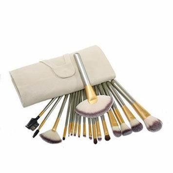 18pcs Premium Synthetic Kabuki Makeup Brush Set Cosmetics Foundation Blending Blush Eyeliner Face Powder Brush Makeup Brush Ki