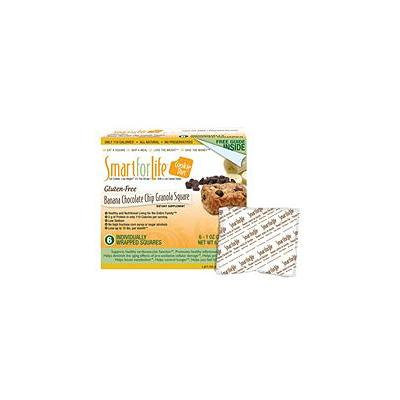 Smart for Life® Cookie Diet 7-Day Meal Replacements - Gluten Free Banana Chocolate Chip Granola Squares - 42 ct.