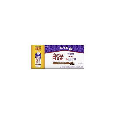 EAS AdvantEDGE Ready-to-Drink Protein Shake, Milk Chocolate (18 ct.)