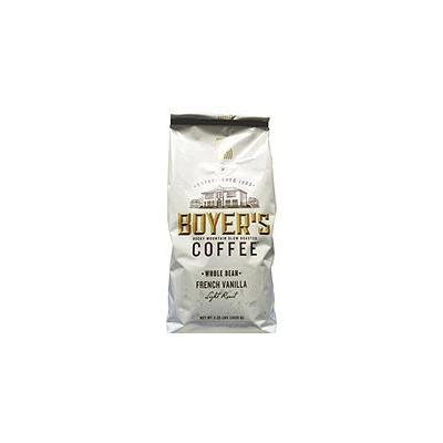 Boyer's Coffee French Vanilla, Whole Bean (2.25 lbs.)