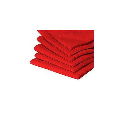 GarageMate Plush MicroFiber Cleaning Cloths - Red - 20 Pack