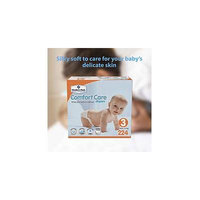 Member's Mark Comfort Care Baby Diapers, Size 3 (16 - 28 lbs) 224 ct.