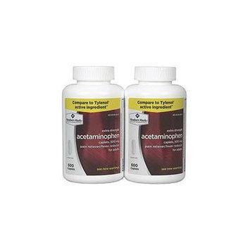 Member's Mark 500mg Extra Strength Acetaminophen (600 ct., 2 pk.)