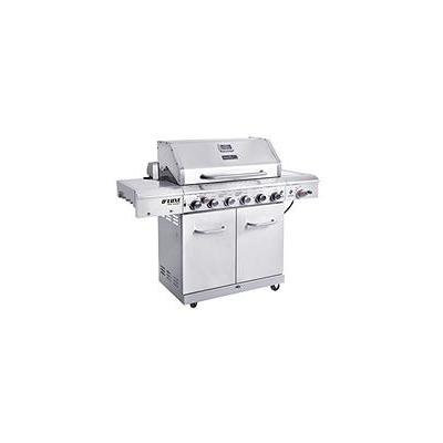 Nexgrill 6 Burner Gas Grill with Searing Side Burner and Rotisserie Burner