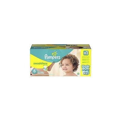 Pampers Swaddlers Diapers, Size 6 (92 ct.)