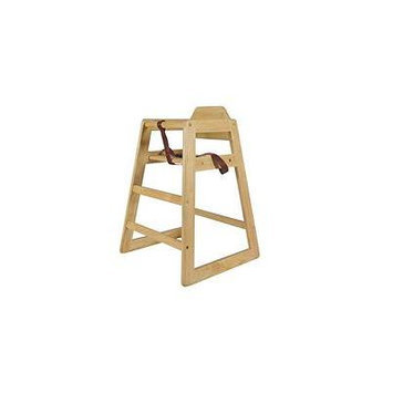 Wood High Chair-natural