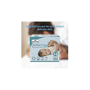 Member's Mark Comfort Care Baby Diapers, Size 1-2 (12 - 18 lbs) 252 ct.