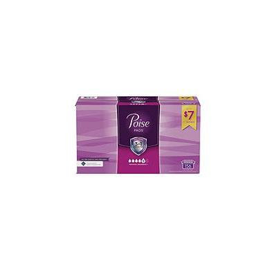 Poise Incontinence Pads, Long, Maximum Absorbency (156 ct.)