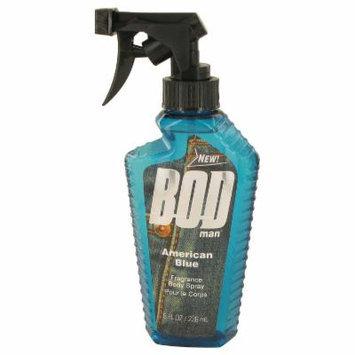 Bod Man American Blue for Men by Parfums De Coeur Body Spray 8 oz