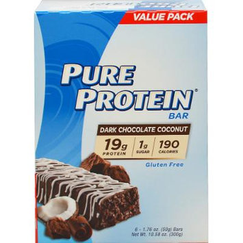 Pure Protein Pure Protein Dark Chocolate Coconut-6 Bars