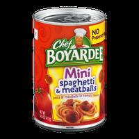 Chef Boyardee Mini Spaghetti & Meatballs