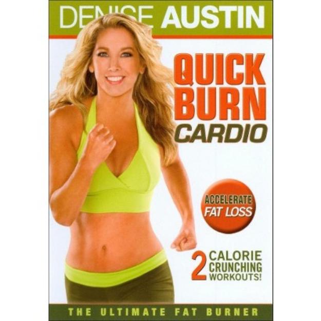 Denise Austin: Quick Burn Cardio (Widescreen)