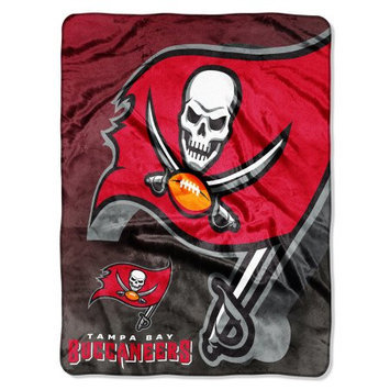Northwest Company NFL Tampa Bay Buccaneers Bevel Micro Raschel Throw