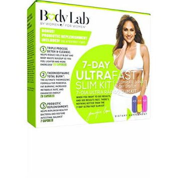 Body Lab 7 Day Ultra Fast Slim Kit, 3 Count