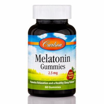 Melatonin Gummies 2.5 mg - 60 Gummies by Carlson Labs