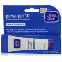 2 Pack Clean & Clear, Persa-Gel 10 Acne Medication Treatments, Maximum Strength 0.1 oz Each