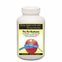 The Fat Eradicator (TM) - 24 Powerful Natural Fat Metabolizing Nutrients - Stimulant Free