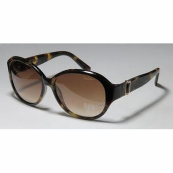 Nicole Miller Madison 58-15-130 Brown Marble Pattern Full-Rim Sunglasses