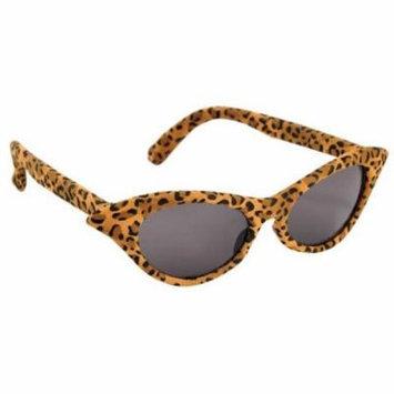 Amscan 250081 Glasses Vintage Cheetah - Pack of 4