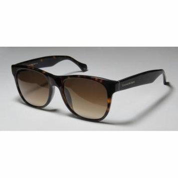 Ermenegildo Zegna 3613g 55-19-140 Havana Full-Rim Sunglasses