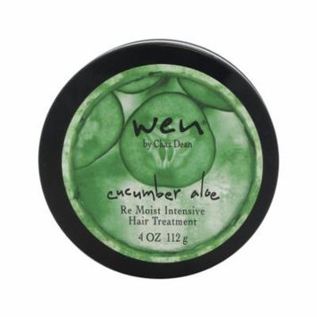 Wen Cucumber Aloe Re Moist Intensive Hair Treatment by Chaz Dean for Unisex - 4 oz Treatment