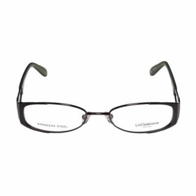 Liz Claiborne 350 50-17-135 Dark Brown / Green Full-Rim Eyeglasses Frame