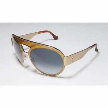Balenciaga Ba4 59-21-140 Transparent Brown / Gold Full-Rim Sunglasses