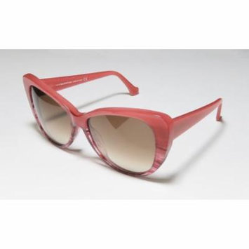 Balenciaga Ba16 57-15-140 Gradient Berry / Pattern Full-Rim Sunglasses