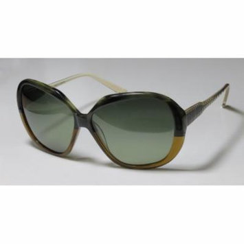 Jason Wu Mia 61-14-140 Green / Brown Full-Rim Sunglasses