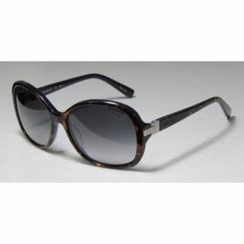 Trussardi 12849 56-16-135 Havana / Navy / Silver Full-Rim Sunglasses