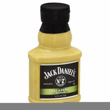 JACK DANIELS MUSTARD JALAPENO, 9 OZ (Pack of 6)