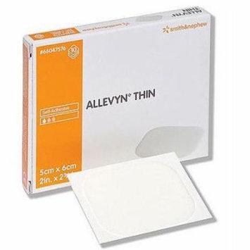 Smith & Nephew Allevyn Thin Gentle-Adhesive Dressing