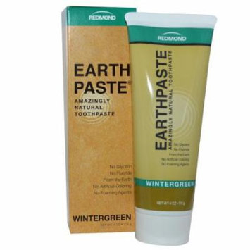 Toothpaste - All Natural Wintergreen with Essential Oils & Xylitol - EarthPaste (R) by Redmond