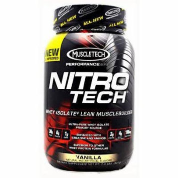 MuscleTech Nitro-Tech, Vanilla, 2 LB