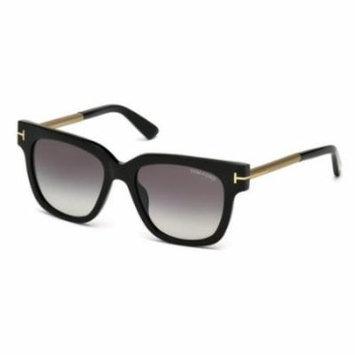 TOM FORD Sunglasses FT0436 01B Shiny Black 53MM