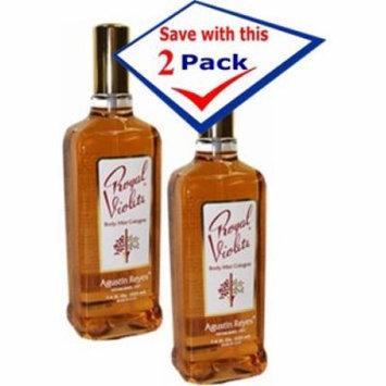 Cologne - Agustin Reyes Royal Violets Spray Eau De Cologne 7.6 oz Pack of 2