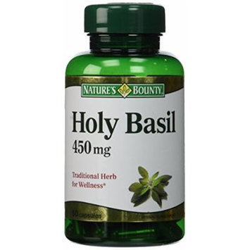 Nature's Bounty Holy Basil Capsules, 450 mg, 60 Count